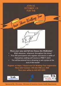 Lower Shore Walking Tour flyer